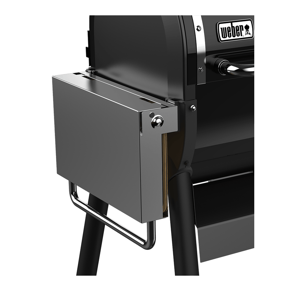 Weber SmokeFire Stainless Steel Folding Side Table ...